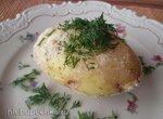 Картофель, запечённый в микроволновке
