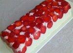 Торт Клубничное настроение для здорового питания