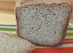Ржано-пшеничный хлеб Летний в хлебопечке Панасоник