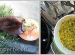 Рагу из кабачков/цукини с укропом (спиралайзер)