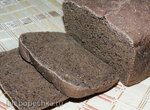 Пшенично-ржаной хлеб на настое чайного гриба (хлебопечка Panasonic CD-2510)
