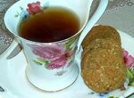 Десертное арахисовое печенье (полезное питание)
