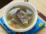 Суп с дайконом и говядиной