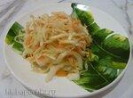 Пикантный капустный салат