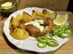 Цыпленок нежный с хрустящей корочкой, запеченнный с картофелем, с оригинальным соусом (Ninja® Foodi® 6.5-qt.)