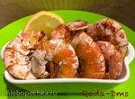 Креветки в гриле Ninja Foodi 5-in-1 4-qt.  (AG301) с соусом Тысяча островов