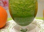 Цитрусовый витаминный напиток с витграссом и шпинатом