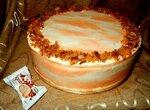 Торт морковный с айвой