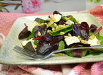 Салат с черной чечевицей почти по-гречески