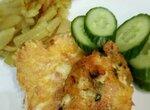 Куриные оладьи с сыром (утилизация)