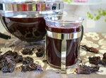 Детокс-напиток каркаде (суданская роза) на зеленом чае