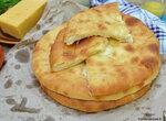 Абхазский ачаш (хачапур)