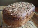 Бородинский хлеб в хлебопечке Gorenje BM1600WG