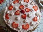 Торт Клубничная нежность