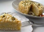Пудинг из цветной капусты с яичным соусом (+видео)