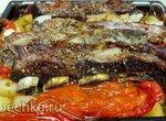 Ребра телятины с овощами в духовке (+видео)