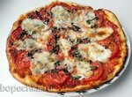 Пицца Маргарита на нетрадиционном тесте (+видео)
