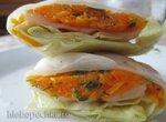 Голубцы маринованные постные с морковью