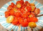 Салат с помидорками черри