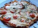 Кабачковая пицца на сковороде (+видео)
