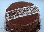 Шоколадно-банановый торт (+видео)
