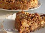 Насыпной пирог с грушами (+видео)