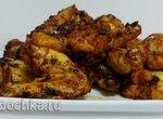 Куриные крылышки в азиатском маринаде (гриль Ninja)+видео