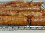 Колбаса куриная рубленая мраморная (+видео)