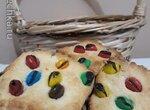 Песочные печенюшки с шоколадом М&Мs