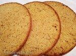 Карамельный бисквит на топленом молоке (+видео)