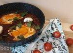 Шакшука классическая с соусом матбуха