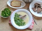 Брндзи апур - суп из мяса, риса и желтка (+видео)