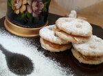 Печенье Ишль с толчённым миндалём