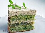 Мятный зеленый торт (+видео)