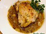 Курица в луковом соусе в Ninya Foodi.