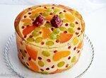Торт-желе фруктовый (+видео)