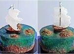 Торт Острова. Мастер-класс по украшению (+видео)