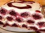 Блинный торт Вишнёвая горка (Избушка)