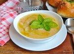 Суп картофельный с пореем