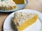 Тыквенный торт на сковородке (+видео)