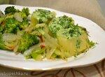 Соус яично-шпинатный для рыбы, овощей