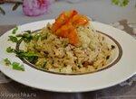 Четыре риса с цветной капустой
