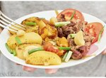 Рецепт из куриных желудочков | Куриные желудочки с овощами в духовке (+видео)