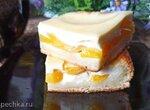 Творожно-персиковый пирог (+видео)