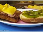 Хрустящие тосты и киви. Гавайские тосты (+видео)
