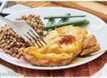 Ужин готов, приятного аппетита | Отбивные из куриного филе с болгарским перцем под сыром