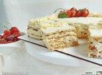 Торт без выпечки Рафаэлло на крекере (+видео)
