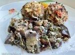 Салат из баклажан маринованный