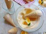 Апельсиновое мороженое (+видео)