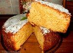 Абрикосовый-кокосовый пирог